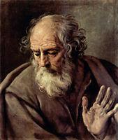 Dream-art Oil painting Salome Guido Reni - Male portrait St. Joseph on canvas