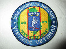 173d Airborne Brigade Vietnam Veteran Patch