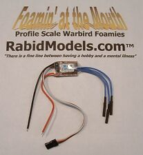 12 amp ESC for brushless motors- aircraft or helicopter (speed control) 1-3 LiPo