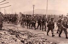 TOULON GUERRE 14-18 WW2 les français progressent militaires de SIENNE à BELFORT