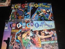 DC Comics Outlaws #1-8 (1991-92) Modern-Day Robin Hood