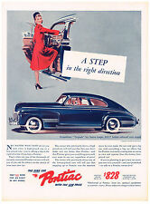 Vintage1941 Magazine Ad Pontiac A Step in The Right Direction Low Price $828