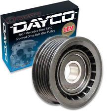 Dayco Grooved Drive Belt Idler Pulley for 2007 Mercedes-Benz S550 5.5L V8 kv
