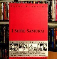 I Sette Samurai (1954) 2 DVD + Libro in Cofanetto Limited Edition Akira Kurosawa