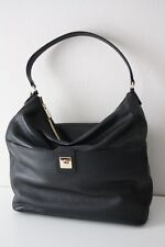FURLA 868331 LEDERTASCHE JO Leather Hobo Bag onyx/schwarz