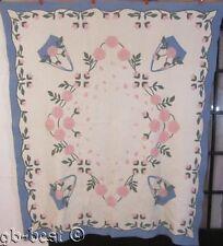 HISTORICAL Marie Webster c 1920s Magpie Rose Vintage Applique Quilt PUBLISHED