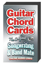 Guitar Chord Cards The Original Songwriting and Band Mate online audio links NEW