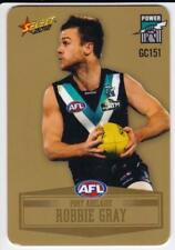 2012 AFL Select Peel And Reveal Gold Card - Robbie Gray