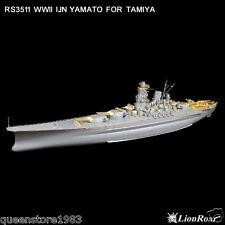LionRoar Photo-etched details 1/350 WWII IJN Battleship Yamato for Tamiya  NEW