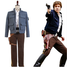 Star Wars Empire Strikes Back Han Solo Outfit Suit Cosplay Costume Full Set