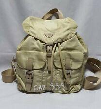 PRADA Beige Tessuto Backpack