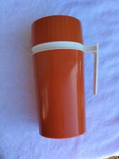 THERMOS King Seeley Pint Size Model 7202 Vintage Orange Complete Brand New