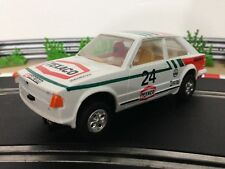 Scalextric Car Ford Escort XR3i White Texico No24 C441 With Lights