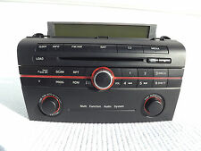 """2007 Mazda 3 """"Multi Function Audio System"""" CD player with top mount  info screen"""