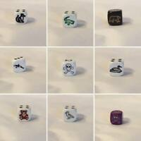 Single 16mm High Quality Six 6 Sided Koplow Dice: Select from the drop-down list