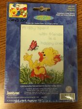 "SUZY'S ZOO Counted Cross Stitch Kit~""Happy Day""~Janlynn #038-0206"