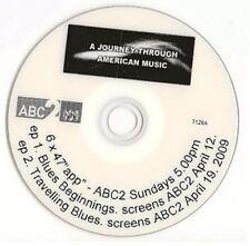 Blues Journey Through American Music Promo DVD Blues Beginnings Travelling Blues