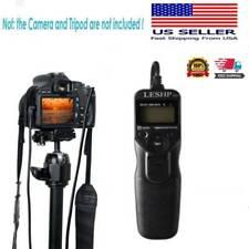 LCD  Timer Shutter Release Remote Control for Canon RS-60E3 Cameras USA stock
