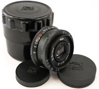⭐NEW⭐ KMZ INDUSTAR 50-2 50mm f/3.5 Russian Soviet USSR Pancake Lens M42 MINT