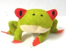 """National Geographic Kids-Red Eyed Tree Frog-2"""" Tall-2018-plush toy McDonald's"""
