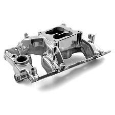 Pontiac 326 350 389 400 421 428 455 Eliminator Intake Manifold Polished