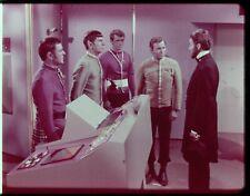 Star Trek TOS 35mm Film Clip Slide Savage Curtain Kirk Spock Lincoln 3.22.37