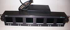 6 Vity LCV 25x6 LCD monitors vidéo broadcast + 1 offert