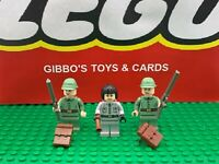 LEGO IRINA SPALKO + 2 RUSSIAN SOLDIERS minifigures INDIANA JONES set 7625 7626