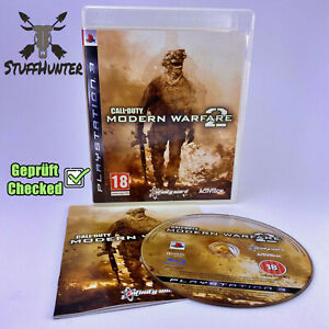 Call of Duty Modern Warfare 2 - PS3 - Tested - USK18 Very Good