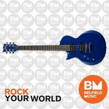 ESP LTD EC-10 Eclipse Electric Guitar Left Hand Blue w/ Gig Bag - EC10