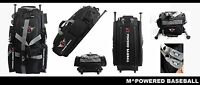 MPOWERED BASEBALL ROLLING GEAR BAG-6 bat storage and multiple storage capacity