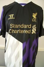 XL LIVERPOOL OFFICIAL WARRIOR 2013 - 2014 3rd SHIRT