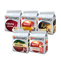 Tassimo Black Coffee Selection Variety Bundle Capsules T-Discs Pods 80 Drinks