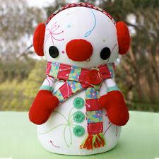 Fiocco di neve PUPAZZO DI NEVE-Cucito Craft pattern-Pupazzi di Neve Natale Xmas Neve