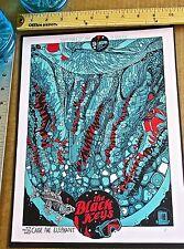 The Black Keys Band Mini Concert Poster Reprint for 2014 Boston Mass  14x10