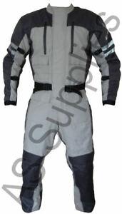 """""""ZEN"""" 1-piece Cordura Textile Motorcycle Suit - M 40"""" chest / 30"""" inseam - SALE"""