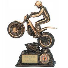 Motorsport Trophée Gravé FREE essais Casque vélo moteur Off Road trophées