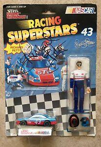 Richard Petty Signed 1991 Racing Superstars Champions Toy Figure PSA/DNA COA