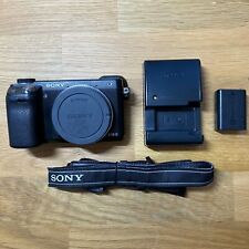 Sony Alpha NEX-6 16.1MP Digital Camera - Black (Body Only - Great Condition)