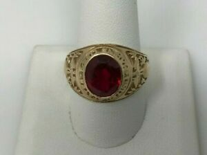 United States Marine Corps 10KT Gold Ring 8 Grams
