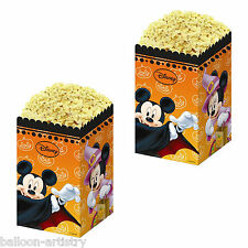 4 Halloween Disney Mickey Mouse Party favore SNACK trattare POPCORN Scatole periodi fissi