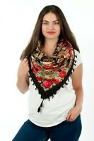 Lovely Russian fashion Slavonic vintage style shawl scarf summer collection-3