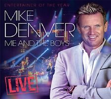 MIKE DENVER ME AND THE BOYS LIVE 2 CD - NEW RELEASE JULY 2017