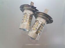 VAUXHALL VECTRA C  SET 2x H7 CREE 16 LED HEADLIGHT BULBS FOG LIGHTS BEST QUALITY