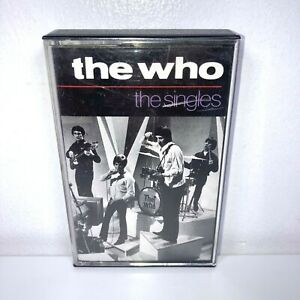 The Who The Singles Cassette Tape Orange Label Polydor 1984 UK Best Of Greatest