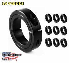 "3/4"" Bore Single Split Shaft Collar Black Oxide Set Screw Style (10 PCS)"