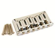 Gotoh Nickel Hardtail 6-string Guitar Bridge SB-5115-001