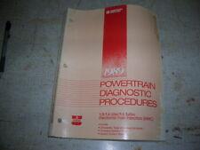 1989 Chrysler 1.5L 1.6L & 1.6L Turbo EFI Powertrain Diagnostic Service Manual