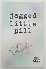 Alanis Morissette Signed Jagged Little Pill Musical Playbill ART Cambridge Rare
