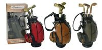 Pen Set - Golf Club & Bag - Office Accessories - Golf Gift Classic - Portland